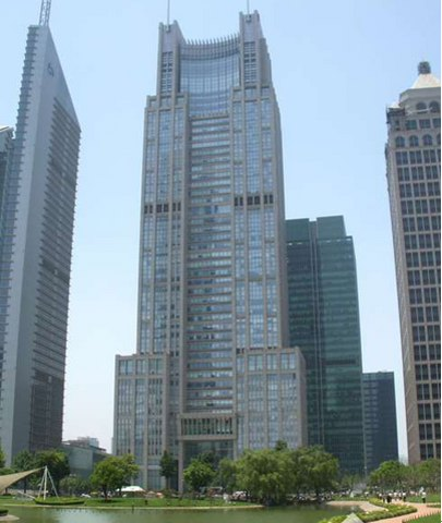 上海银行大厦,一线江景