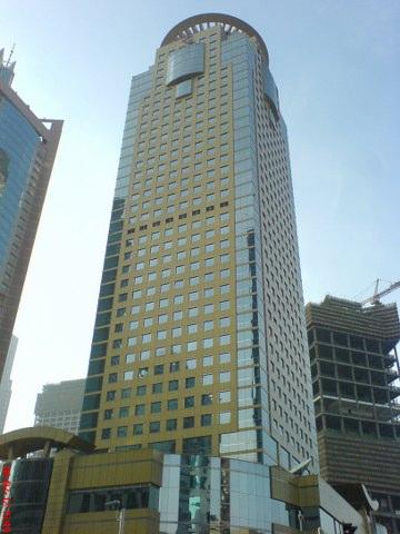 华夏银行大厦,看绿地