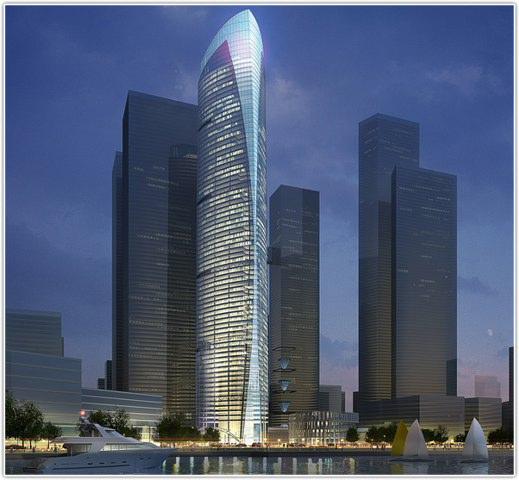 中融碧玉蓝天大厦火热经典办公楼出售,回报率极高,首次低价出售