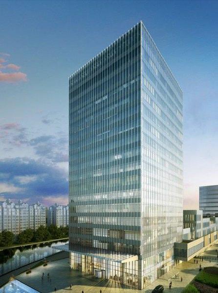 中建广场,世博园区,标志性建筑,地铁6、7号线上盖