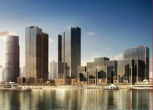 外滩金融中心,无敌景观,一线江景