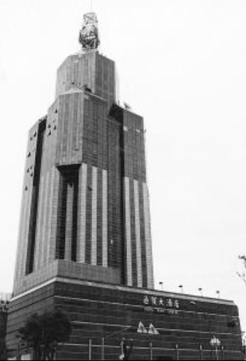 通贸大酒店办公楼竹园商贸区CBD核心地段办公楼出租!